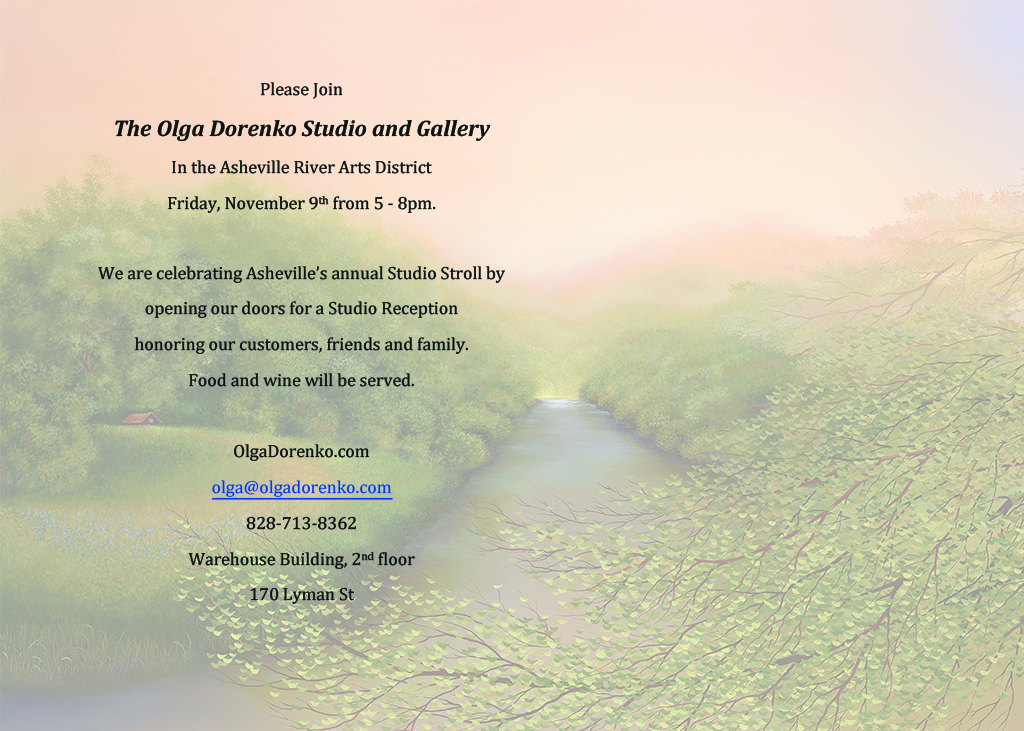 The Olga Dorenko Studio and Gallery